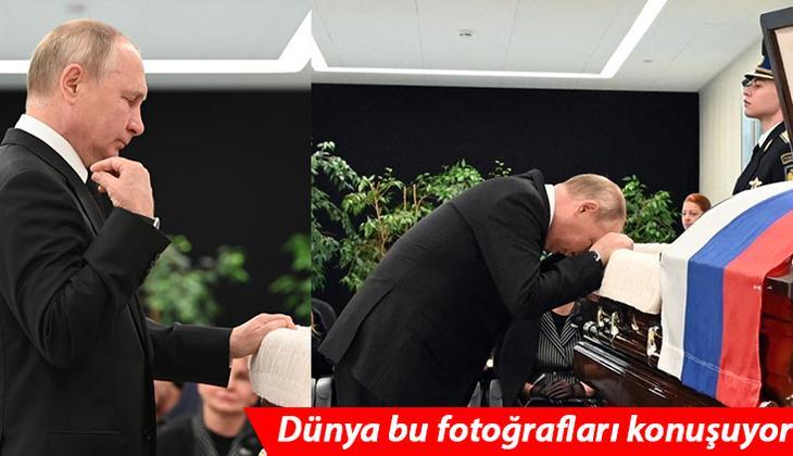 Dünya bu fotoğrafı konuşuyor: Putin'in en acı vedası!
