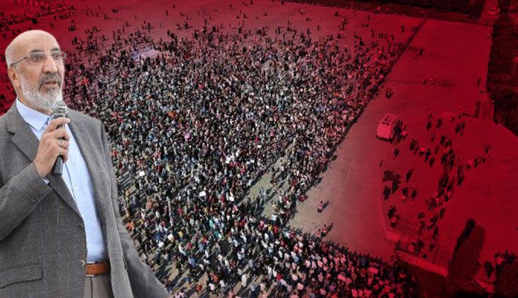 Aşı karşıtları Maltepe'ye akın etti... Abdurrahman Dilipak: Biz bu oyunu bozacağız