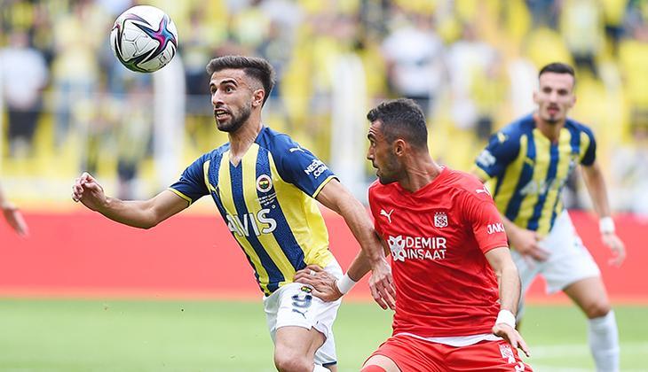 Fenerbahçe 1-1 Sivasspor (Maçın özeti ve golleri)