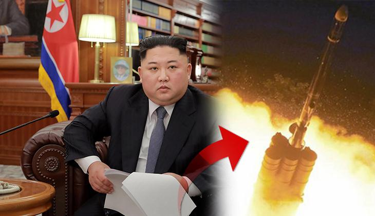 Son dakika: Kuzey Kore'den uzun menzilli füze denemesi