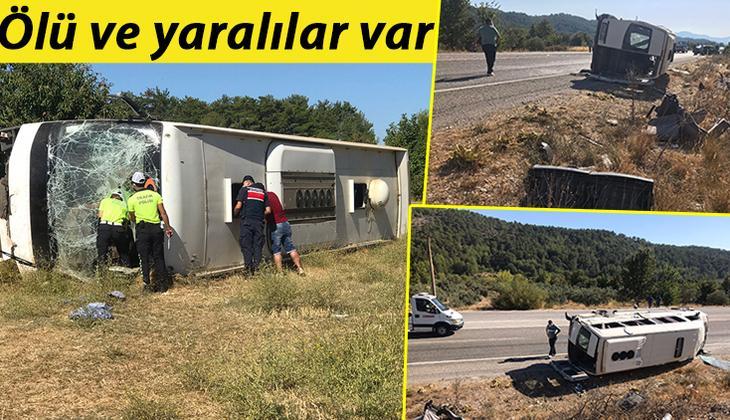 Son dakika... Muğla'da feci kaza! Turistleri taşıyan otobüs ile öğrenci servisi çarpıştı: 1 ölü, 35 yaralı