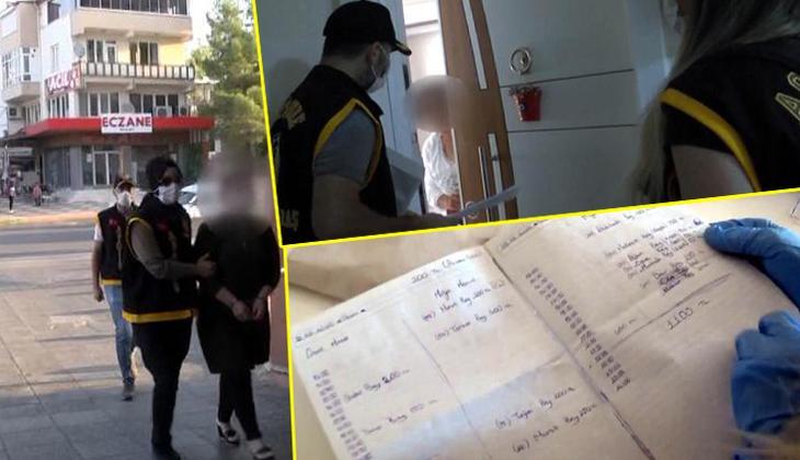 Kahramanmaraş'ta 'fuhuş' operasyonu! Veresiye defteri ele geçirildi