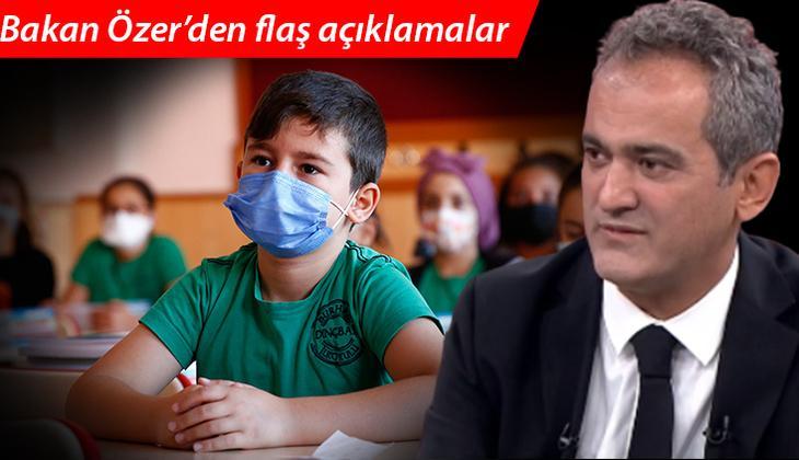 Son dakika! Milli Eğitim Bakanı Mahmut Özer'den önemli açıklamalar