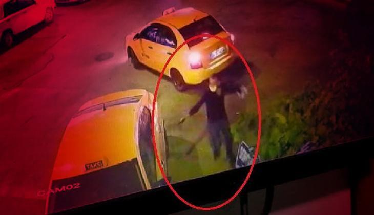 Taksi durağında dehşet anları! 'Öldüreceğim' diyerek kurşun yağdırdı