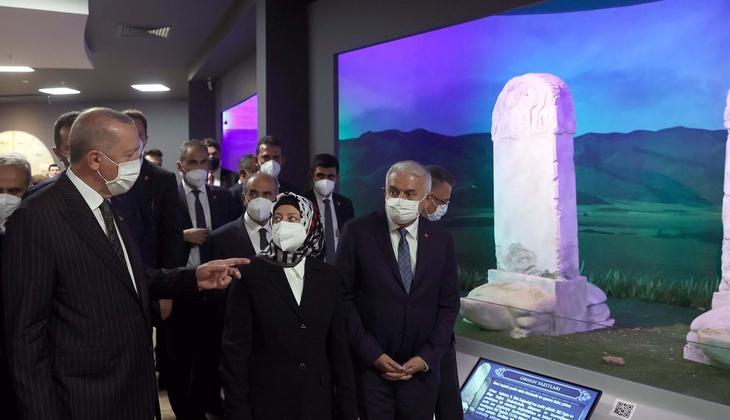 Cumhurbaşkanı Erdoğan'dan müze ziyareti