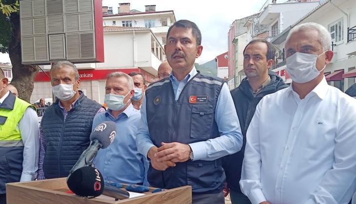 Bakan Kurum açıkladı: Kastamonu, Sinop ve Bartın'da 952 konut ile 170 köy evi yapımına başlandı