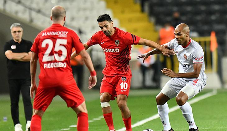 Son Dakika: Gaziantep FK 2-0 Antalyaspor / Maç sonucu