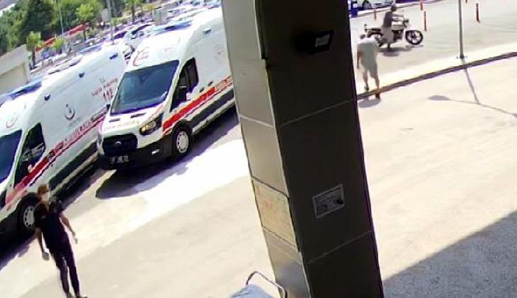 Hastane otoparkından motosiklet çaldı, yakalanınca 'aşı olmaya geldim' dedi