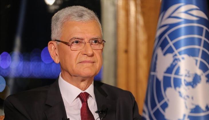 Dışişleri Bakanlığı'ndan Volkan Bozkır'a tebrik mesajı