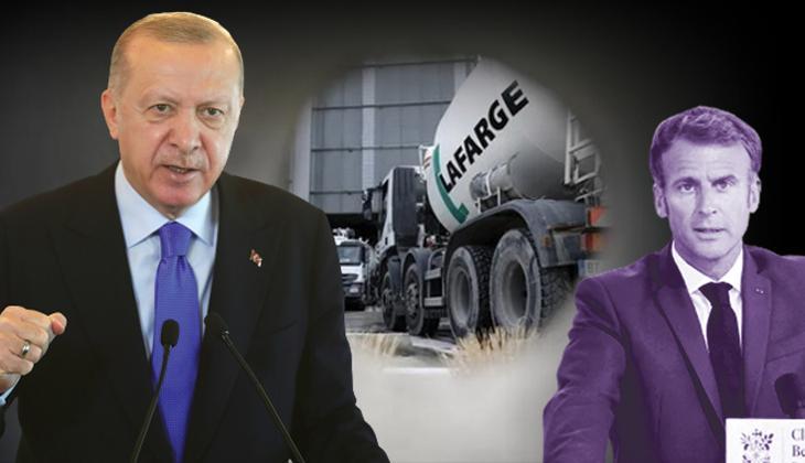 Erdoğan'dan 'Lafarge' açıklaması: Macron'a da söylemiştim
