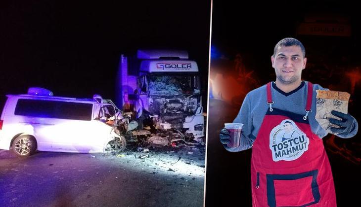 Adanalı 'Tostçu Mahmut'tan acı haber! Trafik kazasında hayatını kaybetti