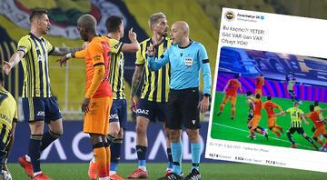Fenerbahçeden derbi sonrası ofsayt kararına tepki Ozanın iptal edilen golü...
