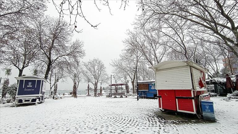 İstanbulda kar yağışı ne zaman duracak, bugün hava nasıl MGM 15 Şubat il il hava durumu tahminleri