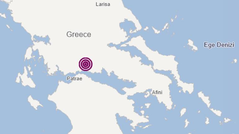 Son dakika... Yunanistanın Fokis bölgesinde 5.2lik deprem