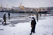 İstanbulda etkili kar yağışı