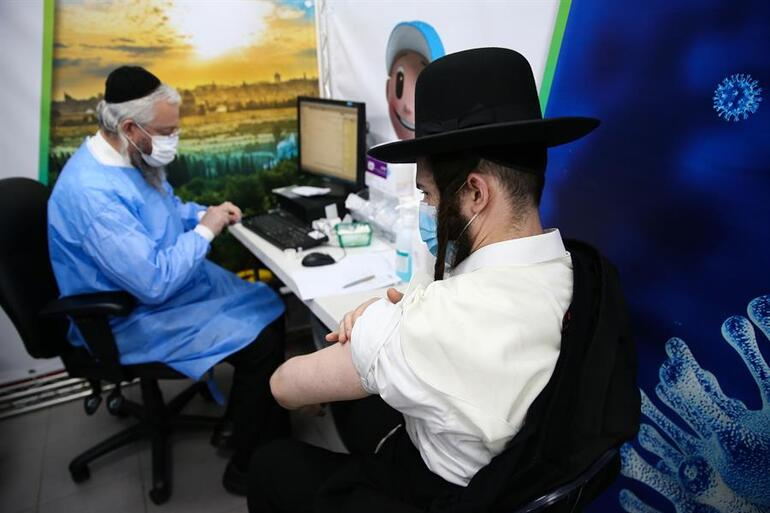 İsrailin Vuhanında aşı çalışmaları devam ediyor
