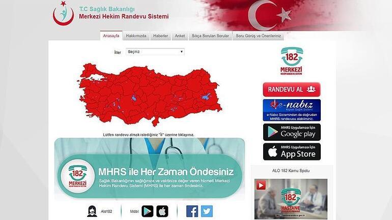 65 yaş üstü aşı randevusu nasıl alınır Sağlık Bakanlığı MHRS ekranı ve e Nabız ile aşı randevusu alma