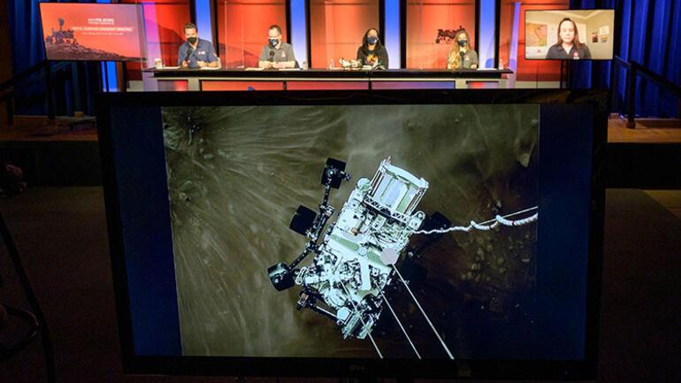 Perseveranceın Marsa inişinden 24 saat sonra yayımlandı Daha önce görmediğimiz bir şey