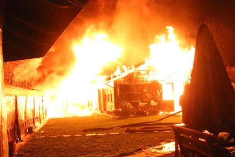 Boğaziçi Üniversitesindeki bir kafeteryada yangın çıktı