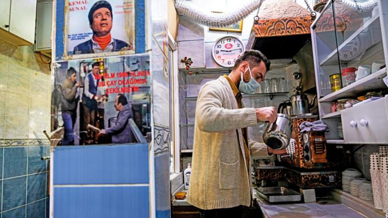 Fakirin ocağında çay sattım Sıcak dağıtmak hüner istiyor