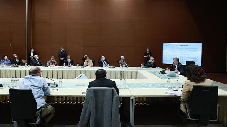 Bilim Heyeti Toplantısı ne zaman yapılacak Gözler Bakan Fahrettin Kocanın açıklamasında