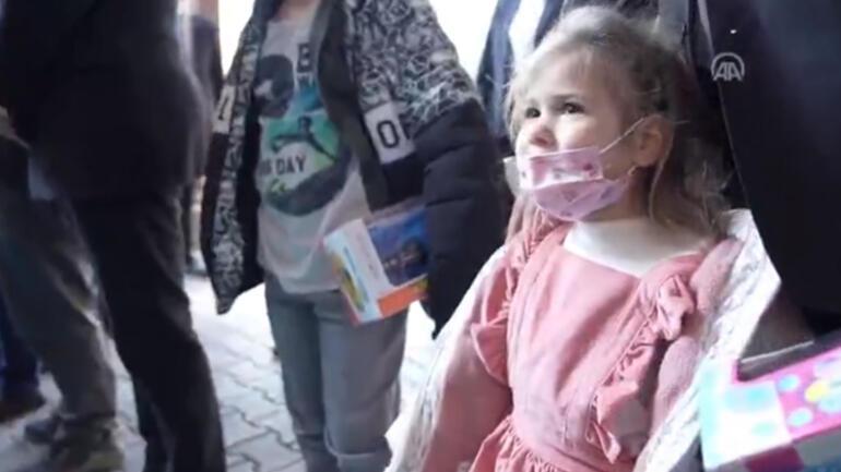 Reisicumhur Erdoğan ve Emine Erdoğan Ayda bebek ile görüştü