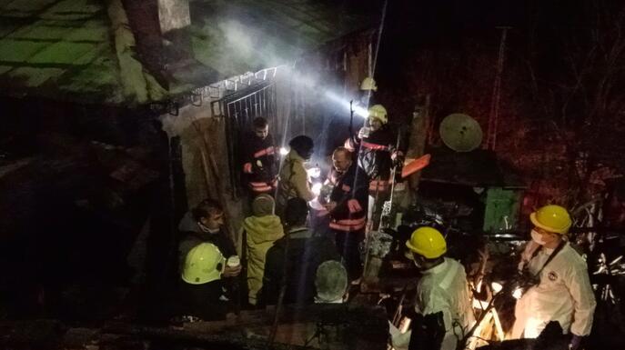 Trabzonda kahreden olay Yaşlı çift yaşamını yitirdi