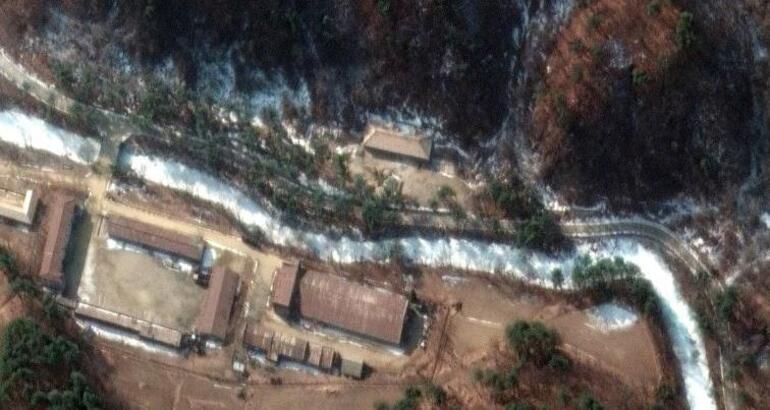 Görüntüleri AMERİKA BİRLEŞİK DEVLETLERİ yayınladı: İşte Kuzey Korenin yeni nükleer tesisleri