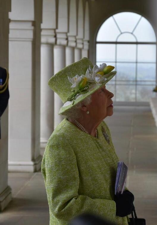 2inci Kraliçe Elizabeth, ırkçılık suçlamalarının ardından ilk kez görüntülendi