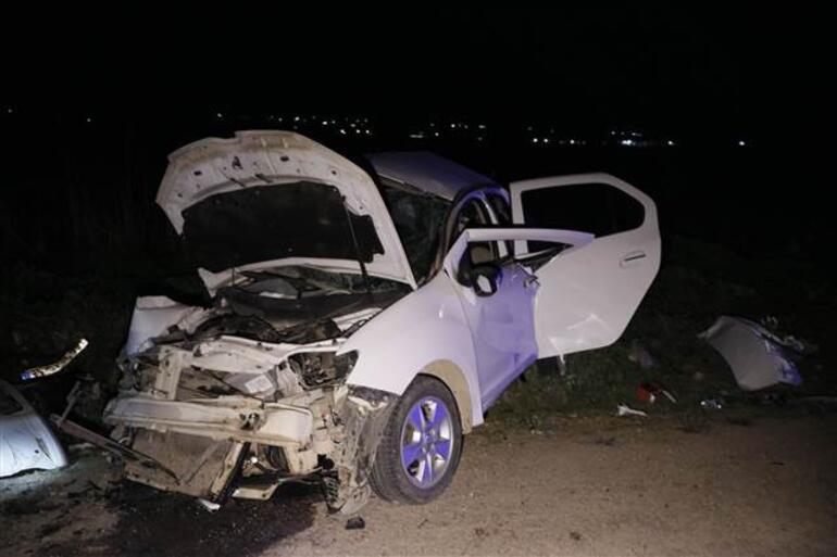 Şanlıurfada korkunç kaza 5 kişi öldü 1 kişi yaralandı