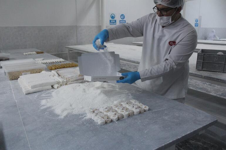 Tam 125 ton üretiliyor Afyonkarahisar'dan 24 ülkeye ihraç ediliyor