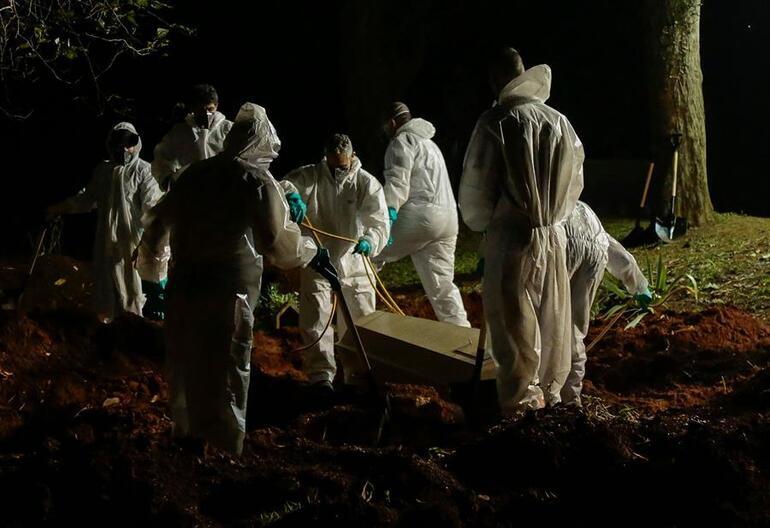 Salgında görülmemiş kâbusu yaşıyorlar... Brezilyada rekor can kaybı korkutuyor