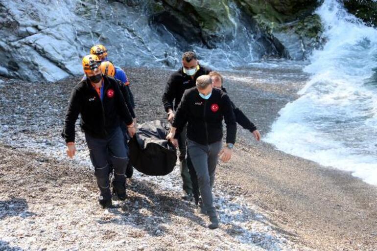 Zonguldakta feci olay Otomobil 200 metreden denize uçtu... Kahreden haber