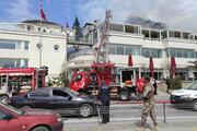 Baltalimanı Polis Evinin çatısında yangın