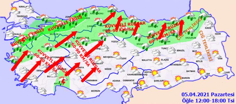 Meteorolojiden İstanbul, Ankara, İzmir dahil çok sayıda kente uyarı