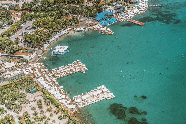 Dünyaca ünlü koyda kaçak beach club durduruldu Peki diğerleri
