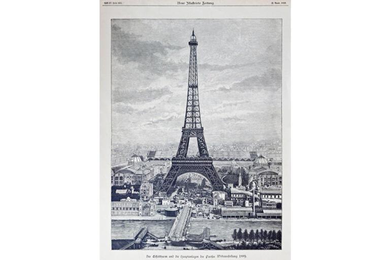 <strong>Eyfel Kulesi</strong>nin ilginç hikayesi: Geçici olarak yapılmıştı