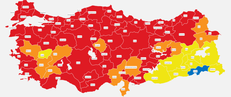 Kırmızı şehir Trabzonda 65 yaş üstü vaka sayıları azaldı