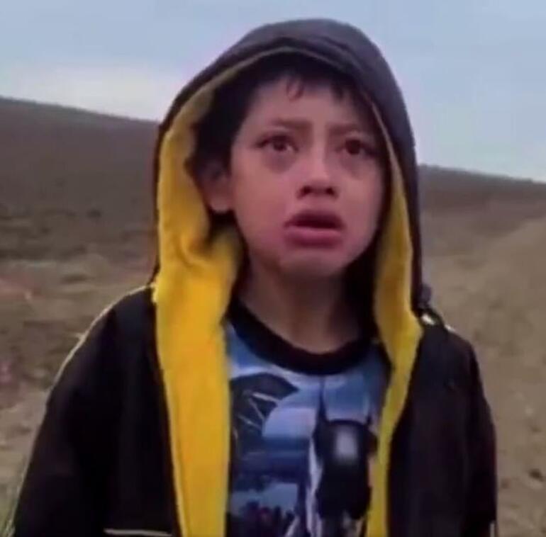 Meksika sınırında çocuk dramı: Çölde ölüme terk ettiler