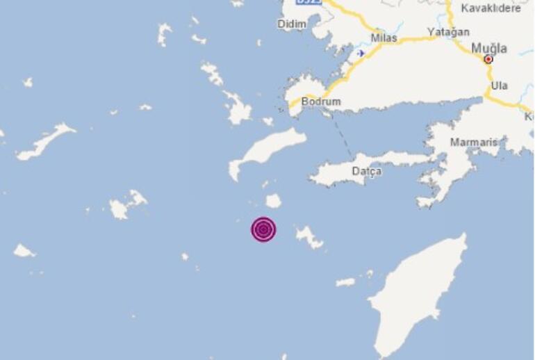 Son dakika deprem haberi: Ege Denizinde peş peşe depremler