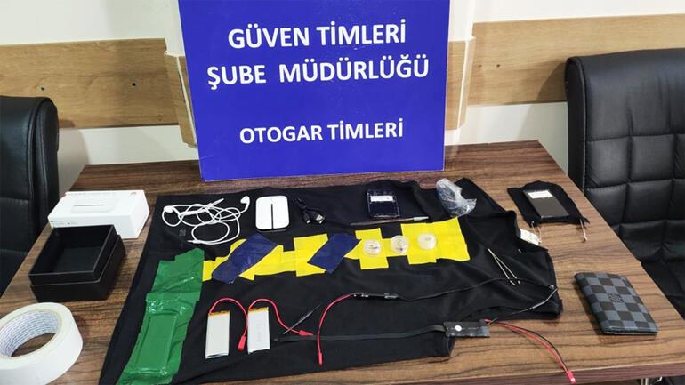 Otogarda nefes kesen anlar Patlayıcı değil kopya cihazı çıktı