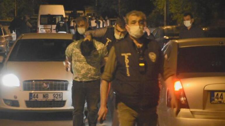 Malatyada ortalık karıştı Özel harekat polisleri müdahale etti