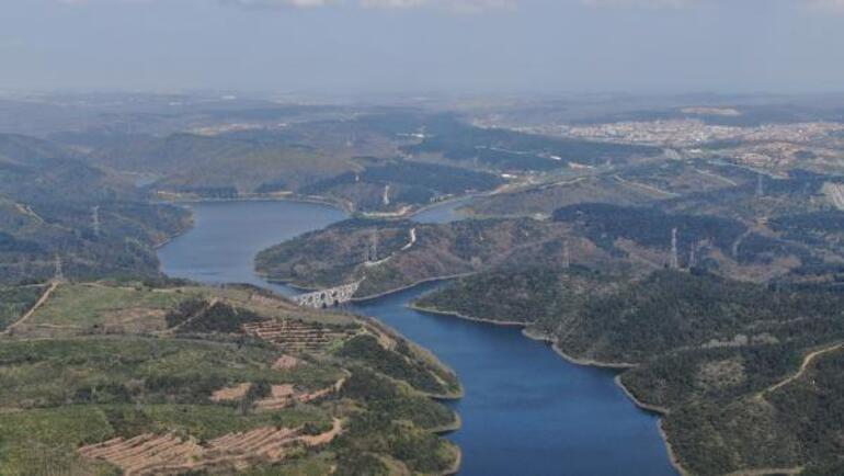 İstanbulda barajların doluluk oranı yüzde 81.11