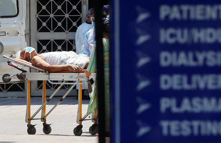 Son dakika haberler... Ölüyoruz Hindistandan dünyaya yardım çığlığı