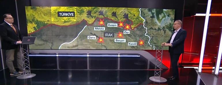 Son dakika... <strong>Kuzey Irak</strong>taki <strong>PKK</strong> <strong>operasyon</strong>unu uzmanlar değerlendirdi Mehmetçik ok gibi ciğerlerine saplanıyor