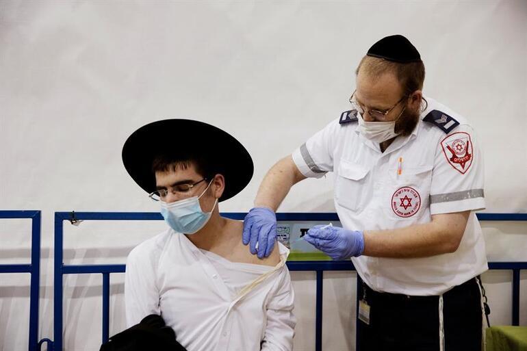 Koronavirüste aşının gücü İsrailde 10 aydır ilk kez Kovid-19dan ölen olmadı