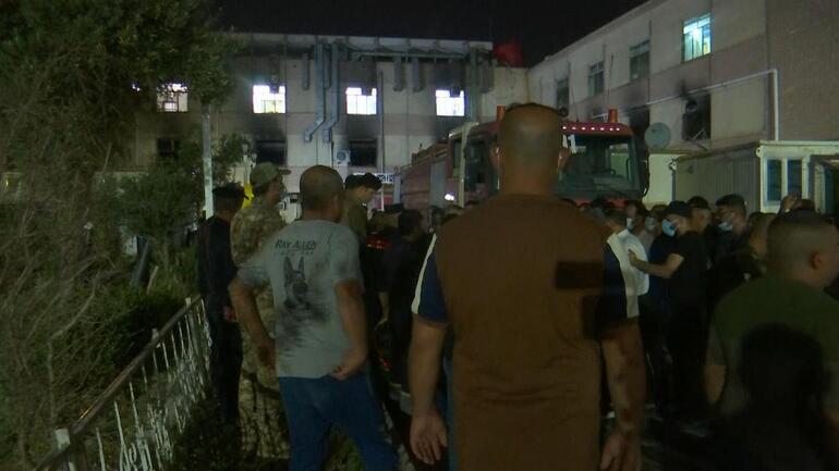 Bağdatta Kovid-19 hastanesindeki yangında ölü sayısı 58e yükseldi