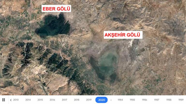 36 yılda büyük değişim Uydu fotoğraflarında ortaya çıktı...
