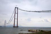 1915 Çanakkale Köprüsünde çalışmalar sürüyor