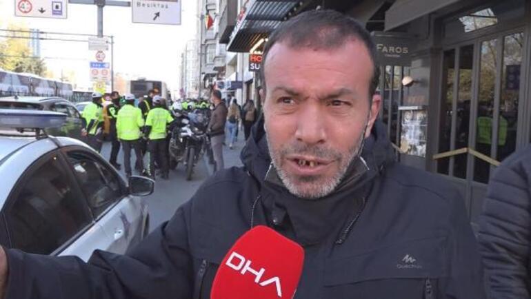 İstanbulda banka şubesinde büyük panik Bıçakla içeri gererek tehditler savurdu